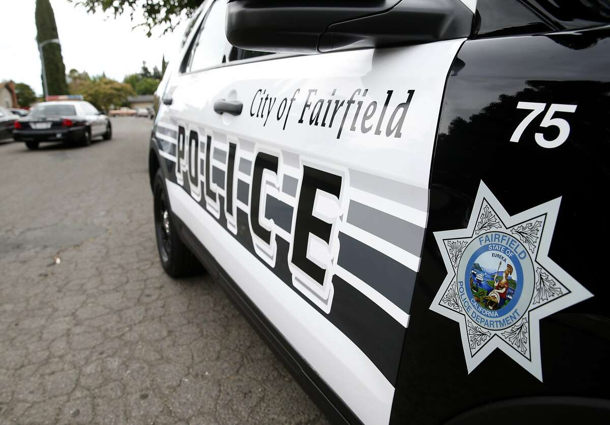 Police officers respond to a fight between neighbors in Fairfield, Calif. on Friday, July 6, 2018. Homicide rates have declined throughout the Bay Area including Fairfield, the county seat of Solano County.