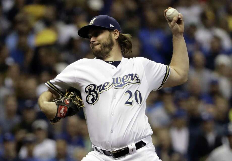 The Houston Astros filled an opening in their rotation on Thursday, agreeing to a $4.5 million, one-year contract with 32-year-old left-hander Wade Miley. Photo: Matt Slocum, STF / Associated Press / Copyright 2018 The Associated Press. All rights reserved.