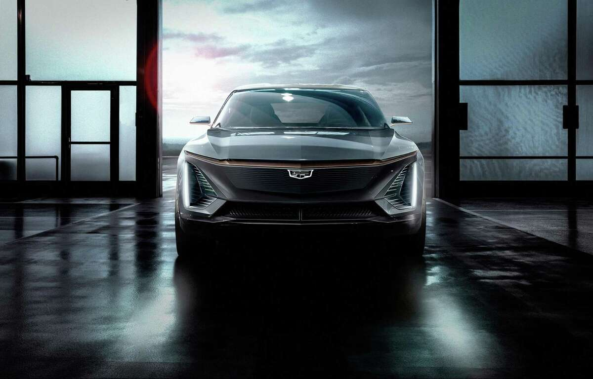 Cadillac unveiled the brand's first electric vehicle on Sunday. (Cadillac/TNS)