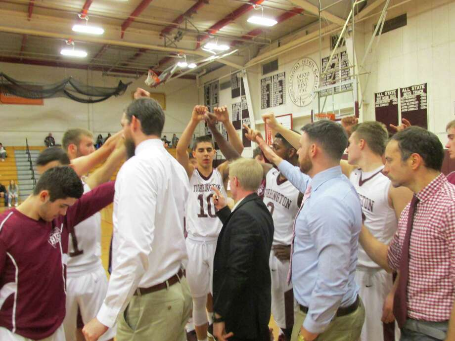 Torrington came together in the final quarter for a win over St. Paul at Torrington High School Thursday night. Photo: Peter Wallace / For Hearst Connecticut Media