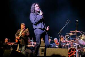 """Singer Diego Navaira, seen earlier this year, stood out in """"Hey Jude"""" during Friday night's """"Revolution: The Music of the Beatles. A Symphonic Experience."""" It was the San Antonio Symphony's first concert in this season's Pops series."""
