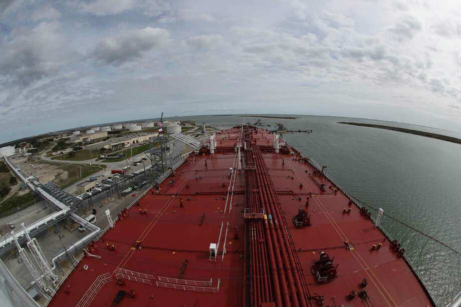 San Antonio pipeline operator EPIC Midstream has made its first delivery of Permian Basin crude oil to the Port of Corpus Christi.  Photo: Steve Gonzales, Houston Chronicle / Staff Photographer / © 2019 Houston Chronicle