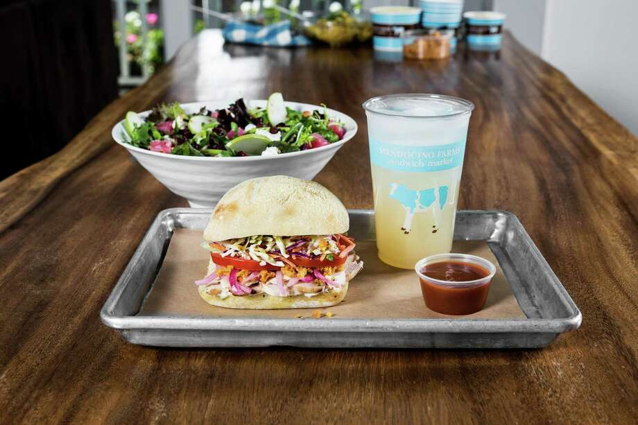 Mendocino Farms Sandwich Market will open in the 609 Main at Texas office building in the fall of 2019. Photo: Mendocino Farms