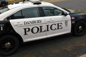 Danbury Police car. Thursday afternoon. January 17, 2019, in Danbury, Conn.
