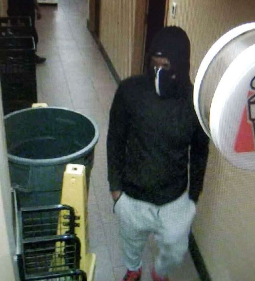 State Police are looking for a suspects in armed robbery of the southbound Merritt Parkway service area on Thursday, Jan. 31, 2019 Photo: /