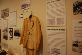 The African American Oil Workers Exhibit at the Spindletop Museum.