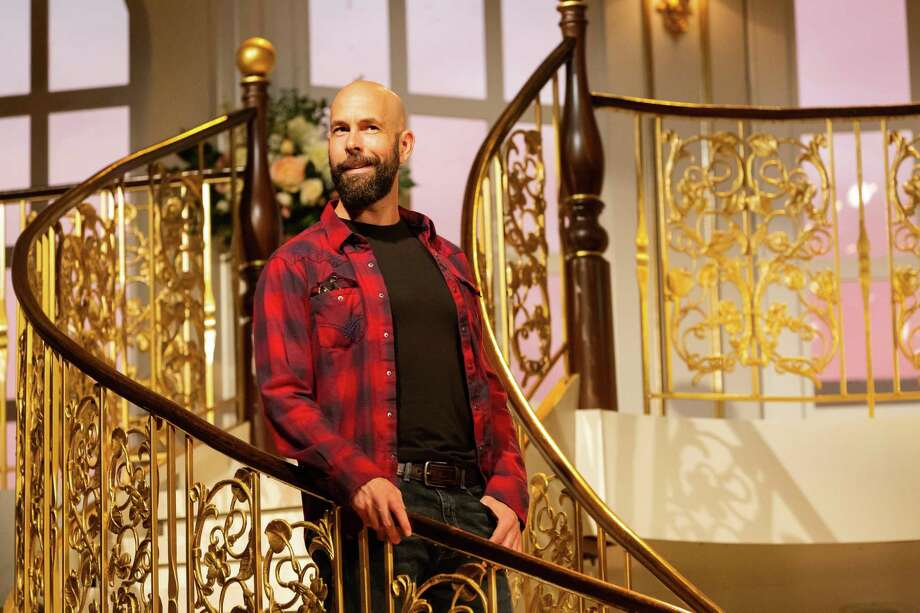 "Wade McCollum in ""The Carpenter,"" Alley Theatre, 2019 Photo: Lynn Lane / Lynn Lane"