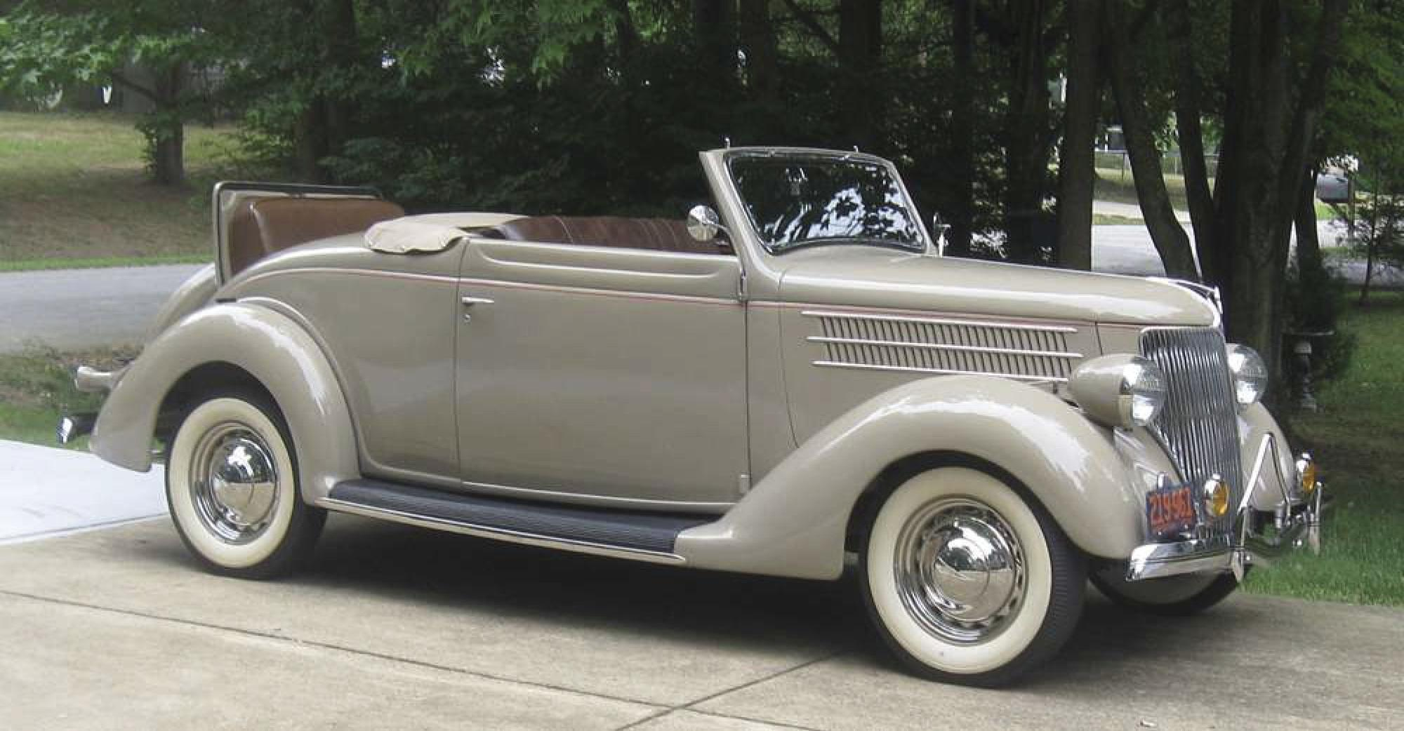 The classics: 1936 Ford Deluxe Cabriolet's appeal hard to resist
