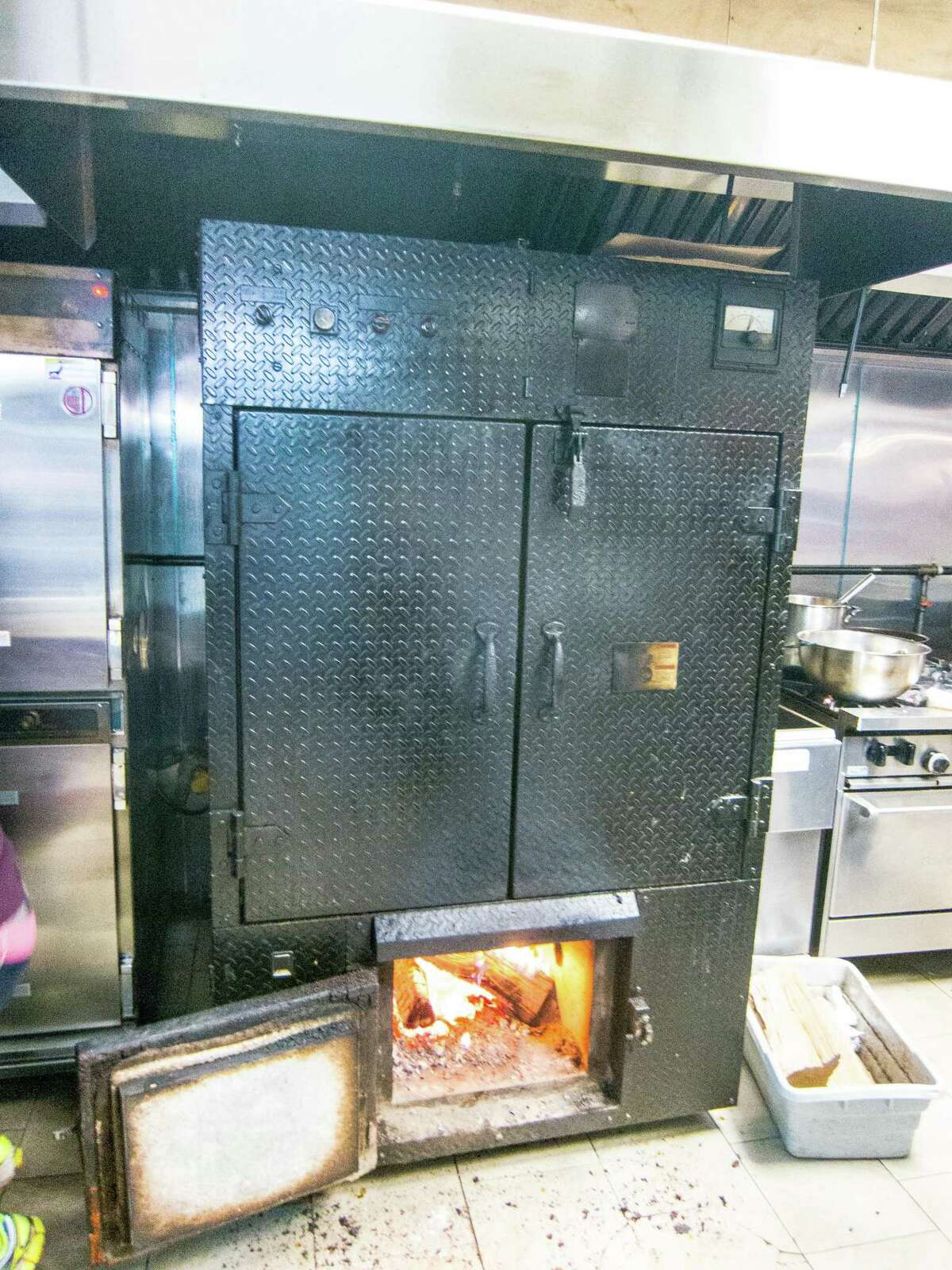 For places like Izzy's Brooklyn Smokehouse in New York, vertical smokers are often the only option.