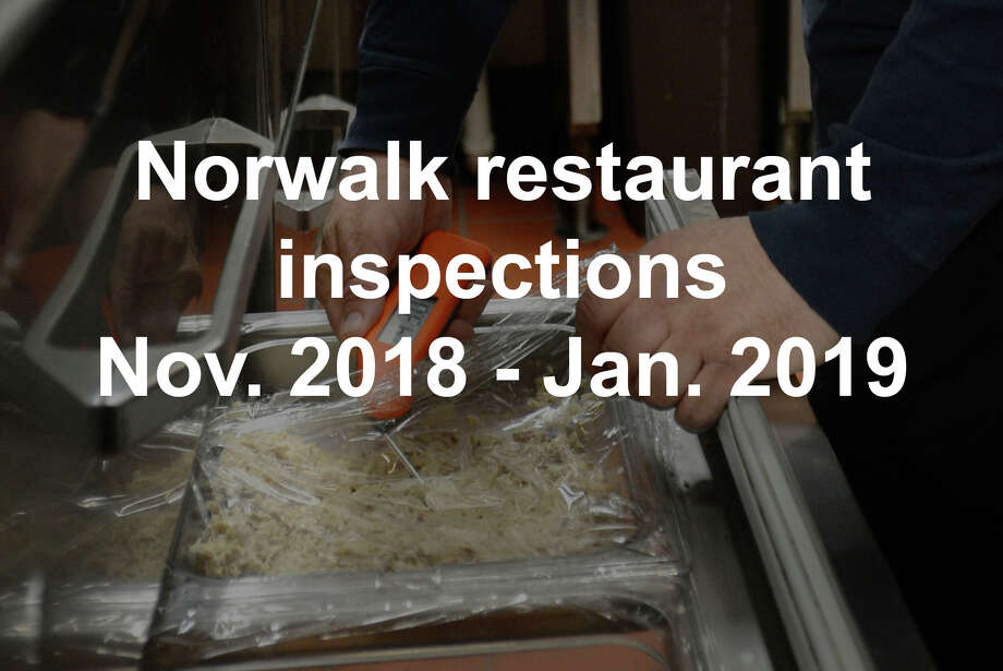 An establishment with a score of below 80 or any inspection with two or more critical violations receives a One Lighthouse rating, or failure. The following eateries received a One Lighthouse rating.  The scores reflect the restaurant's last unannounced inspection. The Norwalk Health Department completed these inspections between November 2018 and January 2019. Photo: Getty / This content is subject to copyright.