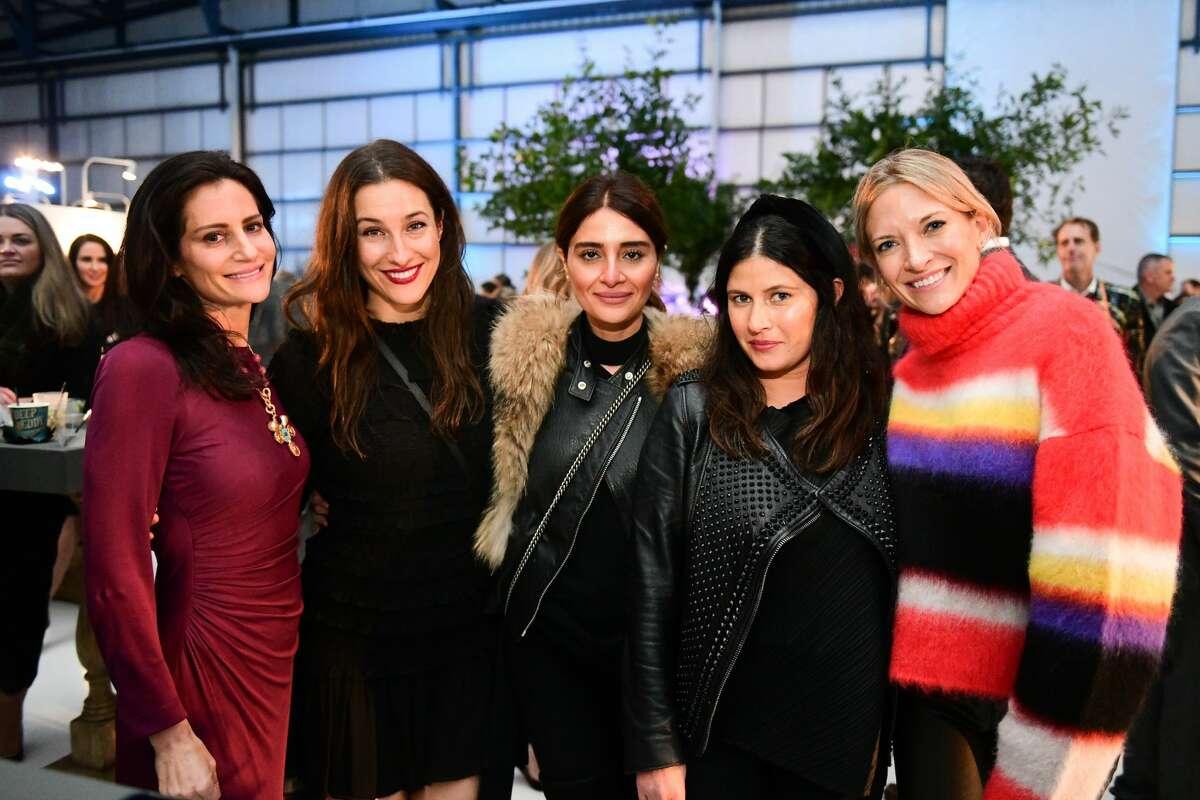 Alexandra Bruskoff, Katie Dwan, Saba Jawda, Natasha Parvizian and Katie Keener