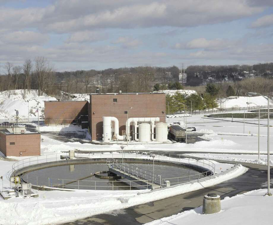 Primary Settlement tanks at the City of Danbury wastewater treatment plant, Friday, February 10, 2017, in Danbury, Conn. Photo: H John Voorhees III / Hearst Connecticut Media / The News-Times