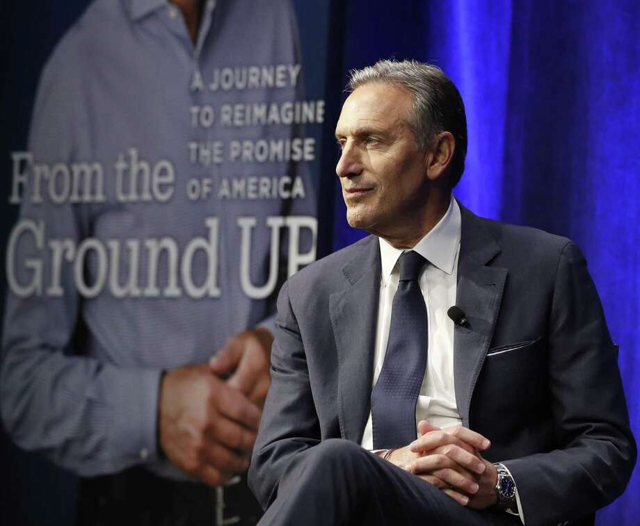 Former Starbucks CEO and Chairman Howard Schultz is suggesting a run for president as a centrist independent. Driving him away would be a mistake. . Photo: Kathy Willens /Associated Press / Copyright 2019 The Associated Press. All rights reserved.