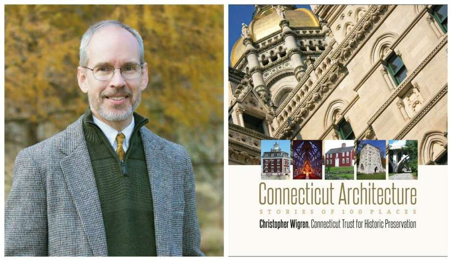 """A book talk with Chris Wigren, author of """"Connecticut Architecture: Stories of 100 Places"""" will be held Feb. 24, 3 p.m. at the Litchfield Historical Society. Chris Wigren is an architectural historian and Deputy Director of the Connecticut Trust for Historic Preservation. The talk is free for members and $5 for non-members. To register or for more information visit www.litchfieldhistoricalsociety.org or call 860-567-4501. Photo: Contributed Photo"""