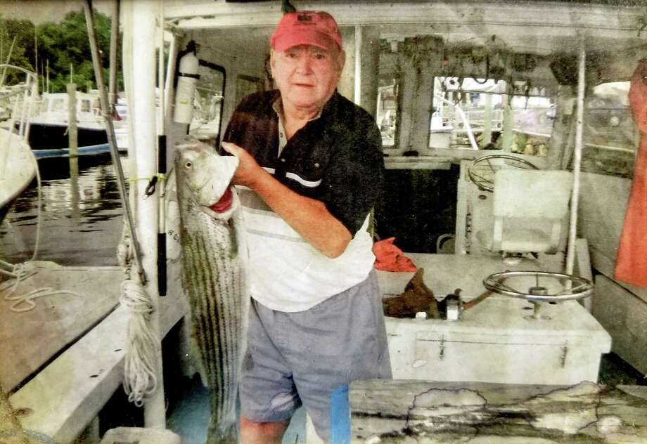 Earl Endrich Sr. had a passion for fishing when he wasn't doing business in his favorite haunt, The Monkey Farm, or working the family farm in Old Saybrook. Photo: Contributed Photo