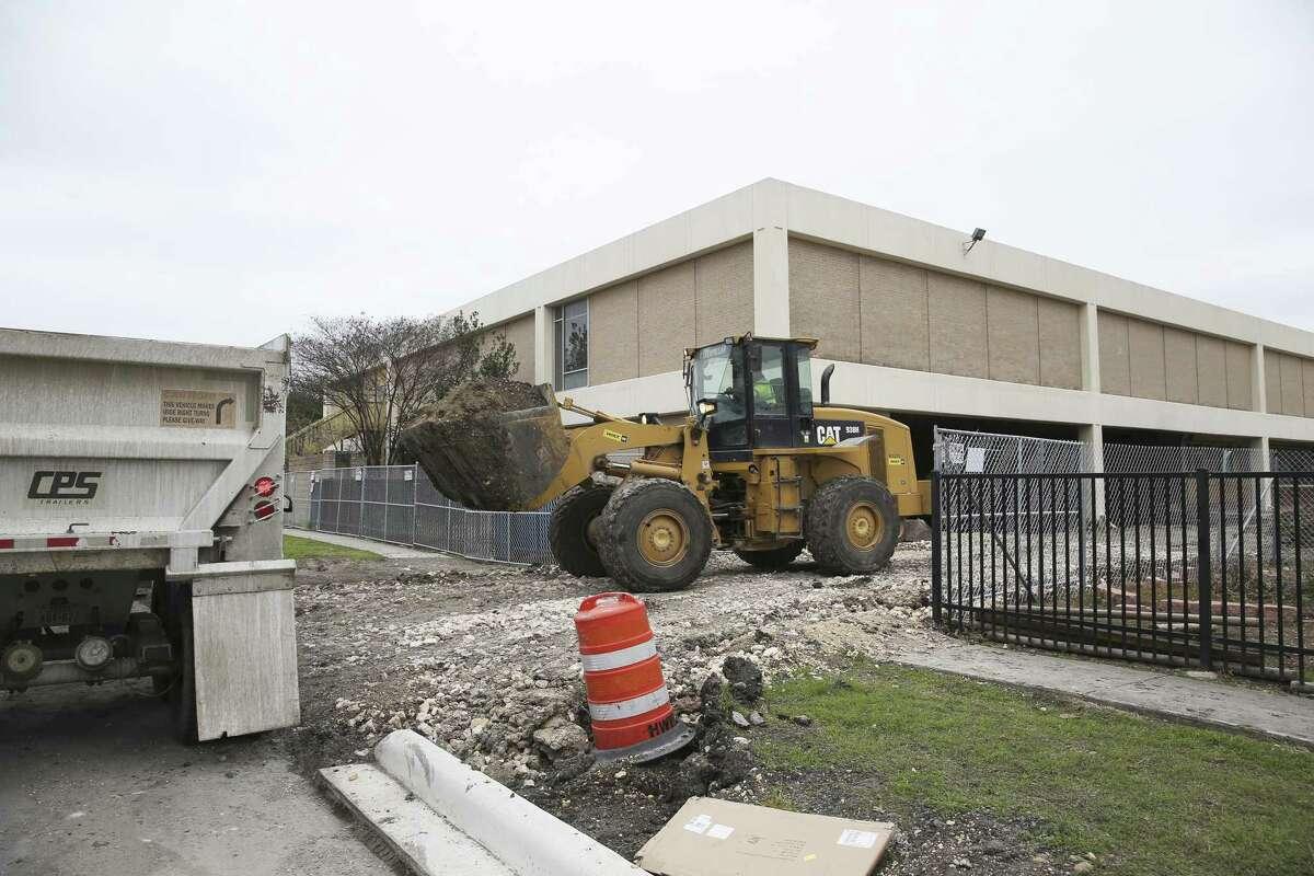 San Antonio ISD bond construction