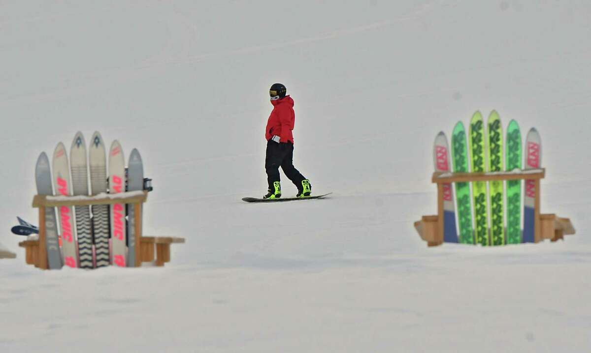 Skiers enjoy the conditions at West Mountain Ski Center on Friday, Feb. 1, 2019 in Glens Falls, N.Y. (Lori Van Buren/Times Union)