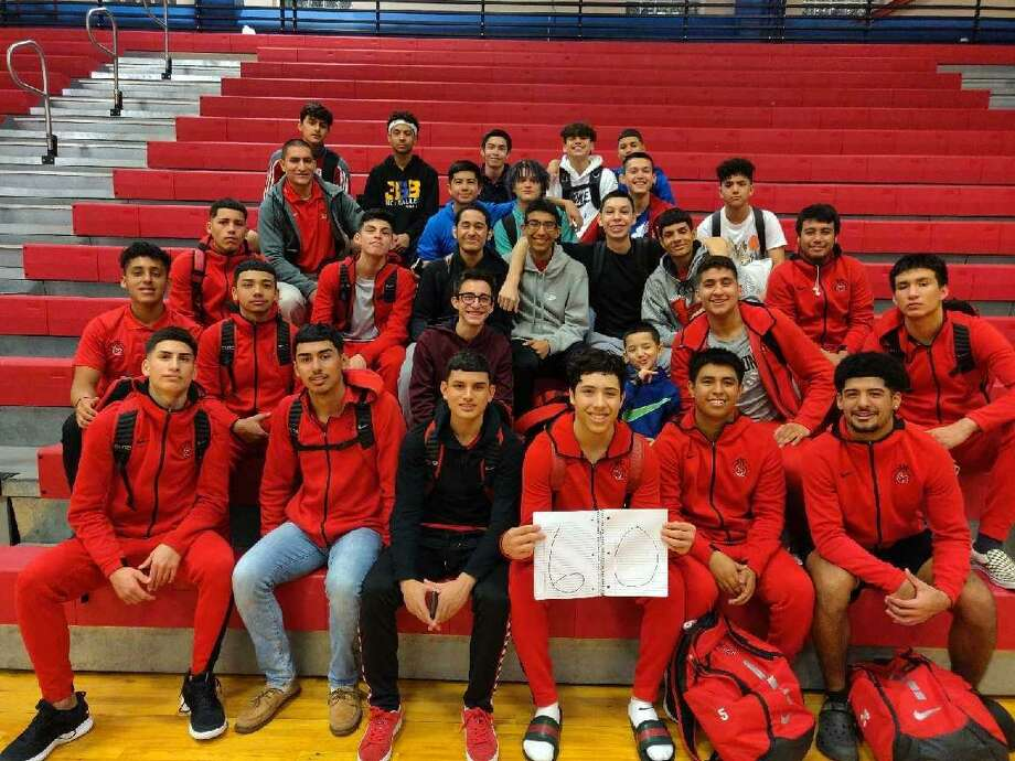 Martin clinched at least a share of the District 29-5A title after Nelson Vasquez dropped 60 points in a win over Gregory-Portland Friday. Photo: Courtesy Of Martin Athletics