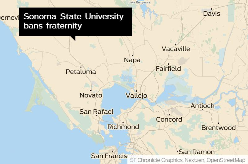 Sonoma State Bans Fraternity Chapter For 5 Years After Investigating