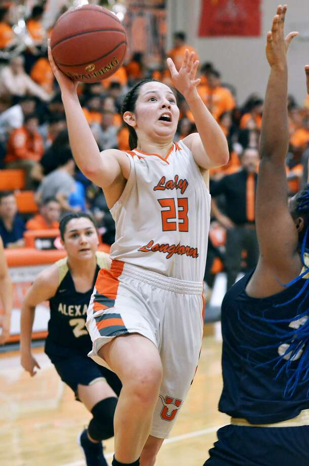 Natalia Trevino and the Lady Longhorns host McAllen on Monday at 7 p.m. in United's playoff opener. Photo: Cuate Santos /Laredo Morning Times File / Laredo Morning Times