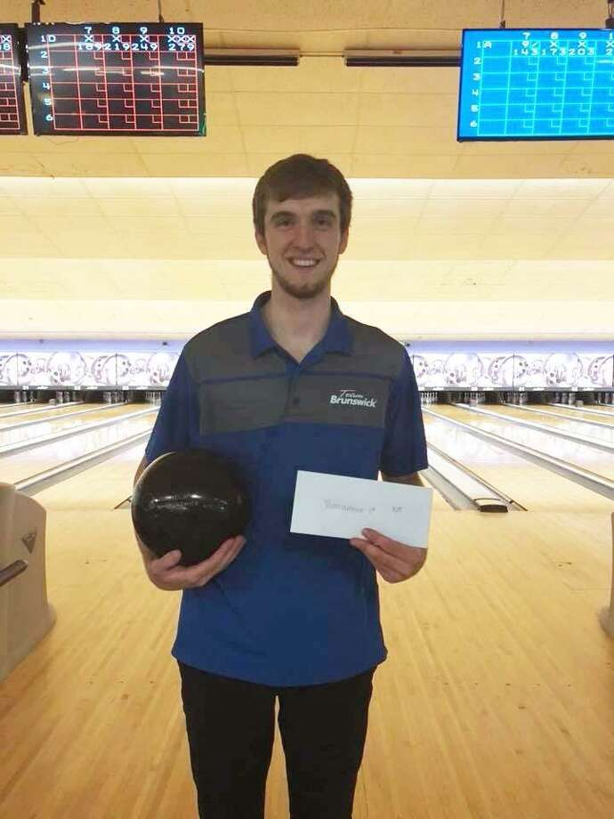 Packy Hanrahan, a Greenwich High School graduate, recently qualified to compete on the PBA Tour. Hanrahan joins the professional tour, after bowling at Wichita State, which won the NCAA championship while he was a member of the team. Photo: Contributed Photo / Greenwich Time Contributed