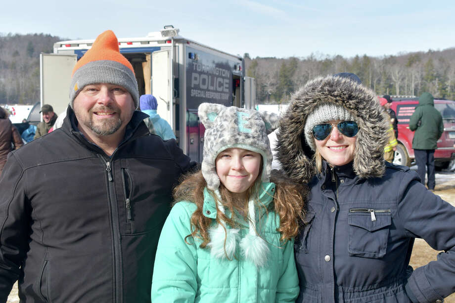 "The DEEP hosted its annual ""No Child Left Inside"" Winter Festival on Saturday, Feb 2, 2019 at Burr Pond State Park in Torrington, Conn. Children and adults tried their hand at ice fishing, enjoyed hikes, snowshoeing, winger games and bonfires as well as demonstrations from LL Bean and Resources in Search and Rescue rescue dogs. Were you SEEN? Photo: Lara Green- Kazlauskas/ Hearst Media"