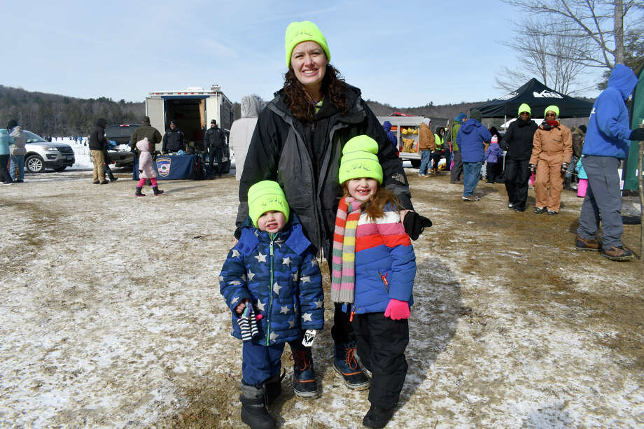 "The DEEP will host its annual ""No Child Left Inside"" Winter Festival at Burr Pond State Parkon Saturday. Find out more. Photo: Lara Green- Kazlauskas/ Hearst Media"