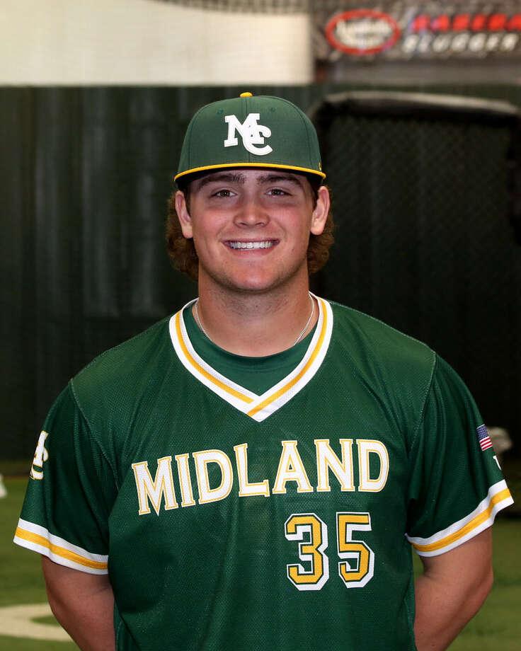Midland College freshman pitcher Dawson Merryman. Photo: Courtesy Photo