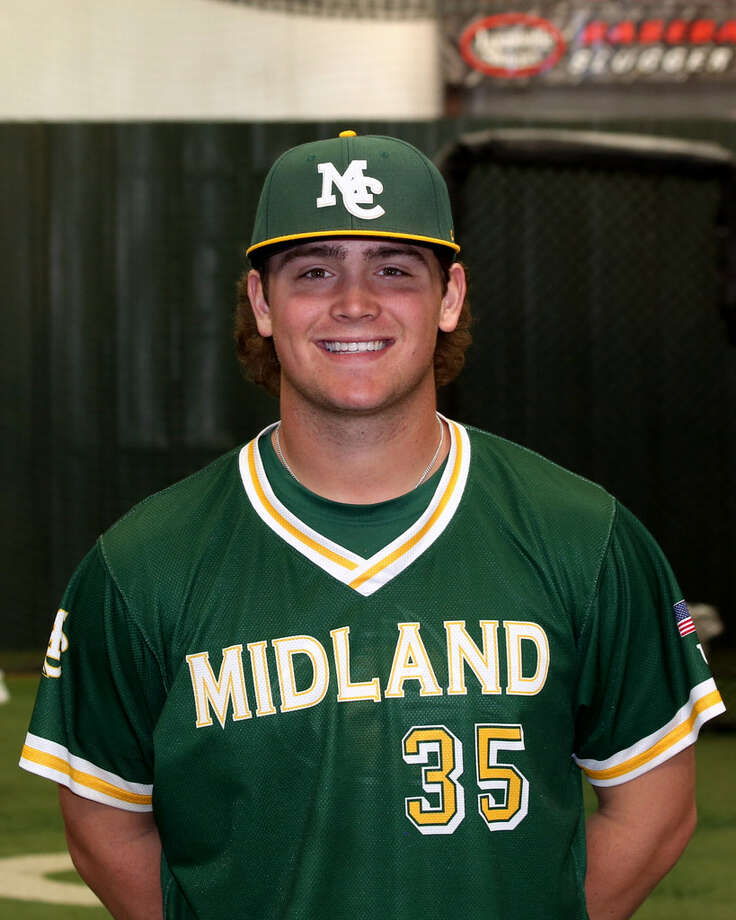 Midland College freshman pitcher Dawson Merryman. Photo: Courtesy Photo