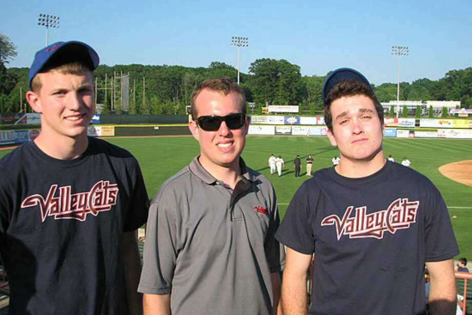 Were you seen at Tri-City ValleyCats opener? Photo: Kristi Gustafson