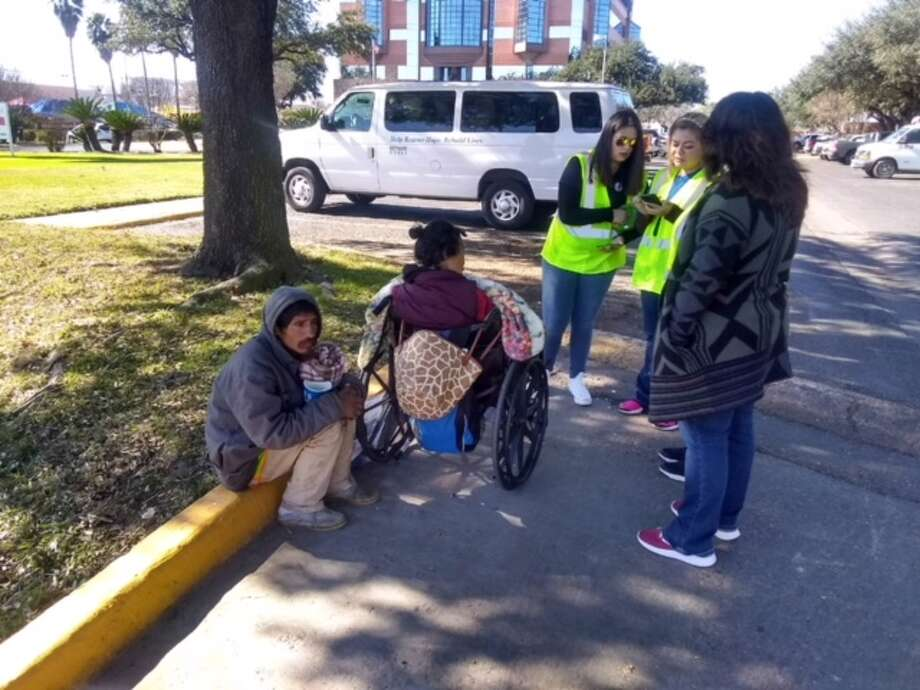 Volunteers find homeless individuals to find what their needs are and how we can better serve them. Photo: Courtesy Photos