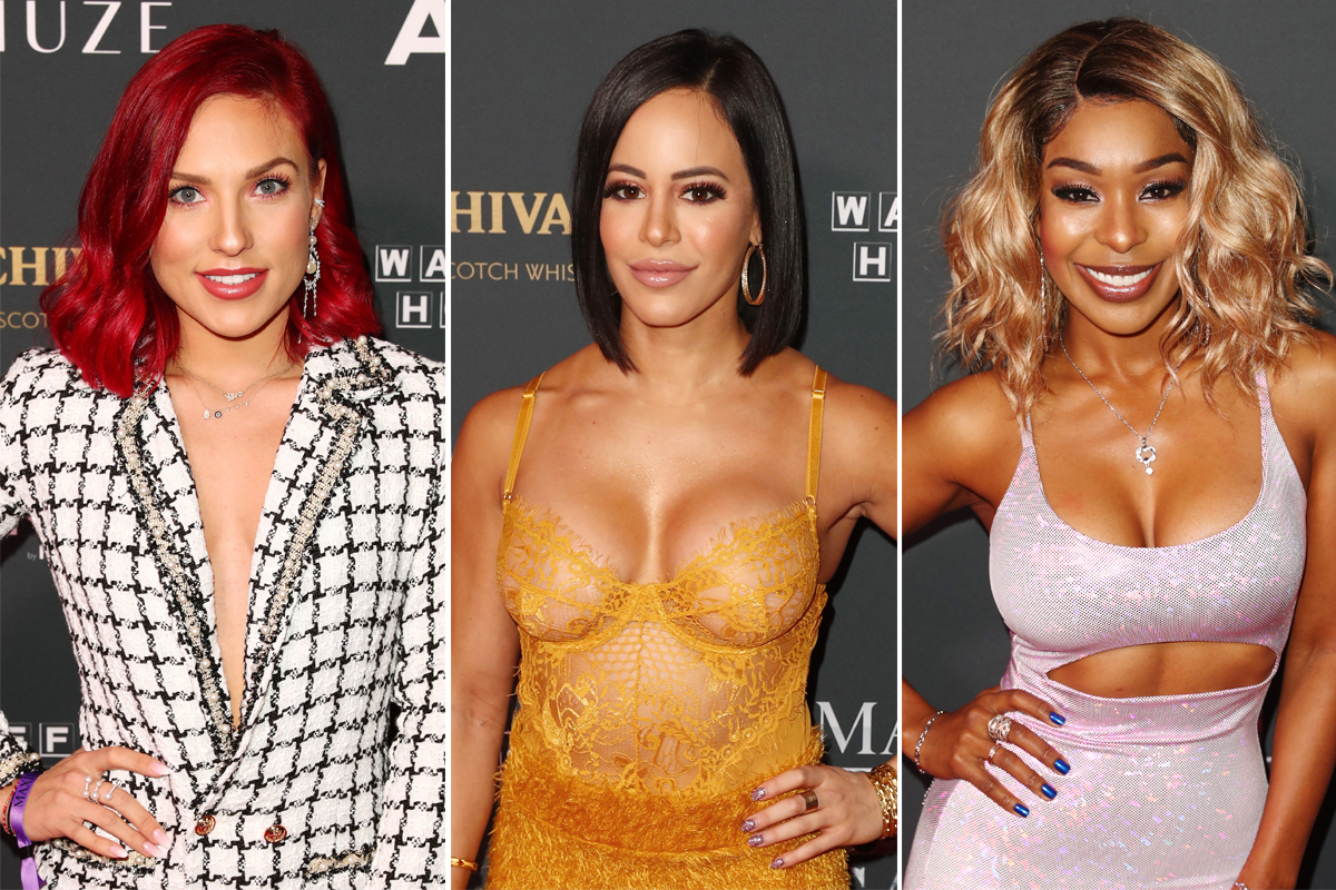 Celebrities show off their hottest looks on the Maxim red carpet ahead of Super Bowl LIII