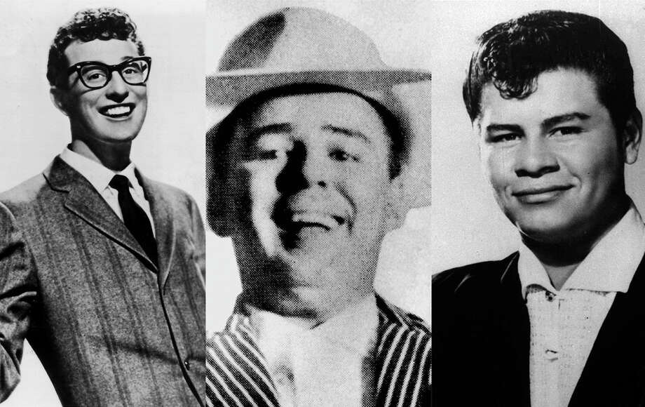 Buddy Holly, The Big Bopper and Ritchie Valens were killed in a plane crash in an Iowa cornfield in Feb. 3, 1959. Photo: File Photo