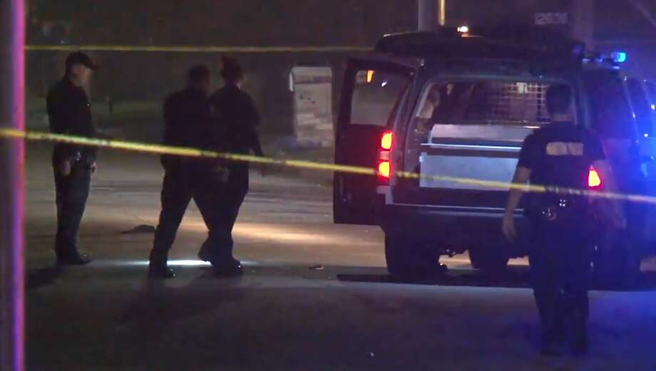 Houston police are looking for suspects in a shooting that killed a 16-year-old boy in a south Houston neighborhood Sunday night. Photo: Metro Video