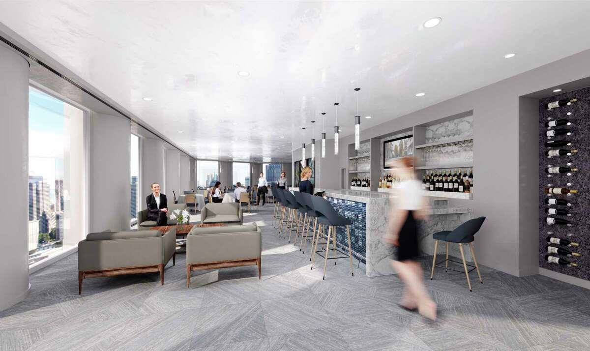 Strato 550 is a new lunch restaurant and conference center on the 43rd floor of 1415 Louisiana in downtown Houston. It is expected to open in spring 2019.