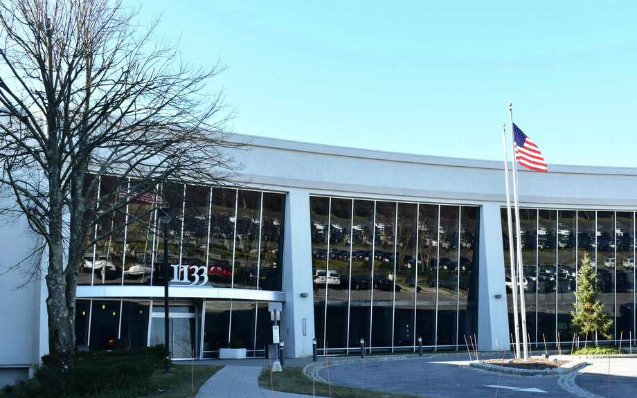 The 1133 Westchester Ave. offices in White Plains, N.Y., home to the Journal News and Lohud news organizations of Gannett. Photo: Alexander Soule / Hearst Connecticut Media / Stamford Advocate