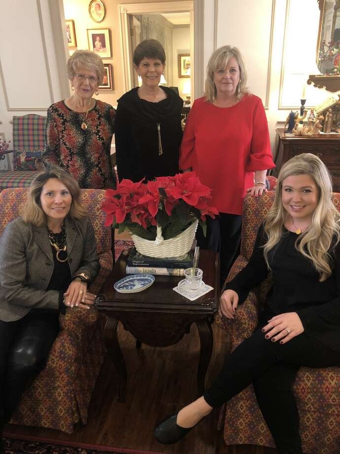 MCRW: Mary Ann Woodard, back from left, Nancy Rasnick and Denise Porter; and Evie Gandy, front left, and Carol Ann Lucky Photo: Courtesy Photo
