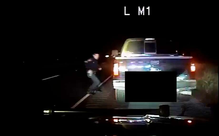 Ofc. Leroy Medlin was fired in November for a second time after he lied in order to engage in the unauthorized car chase. He was previously reinstated after appealing a 2015 firing for another unauthorized chase. Photo: City Of San Antonio