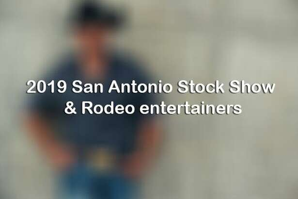 Click through to see all of the entertainers slated to perform at the 2019 San Antonio Stock Show & Rodeo.