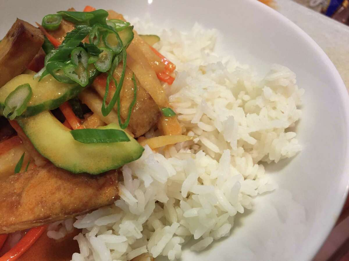 Hacked Tofu in Sesame Sauce