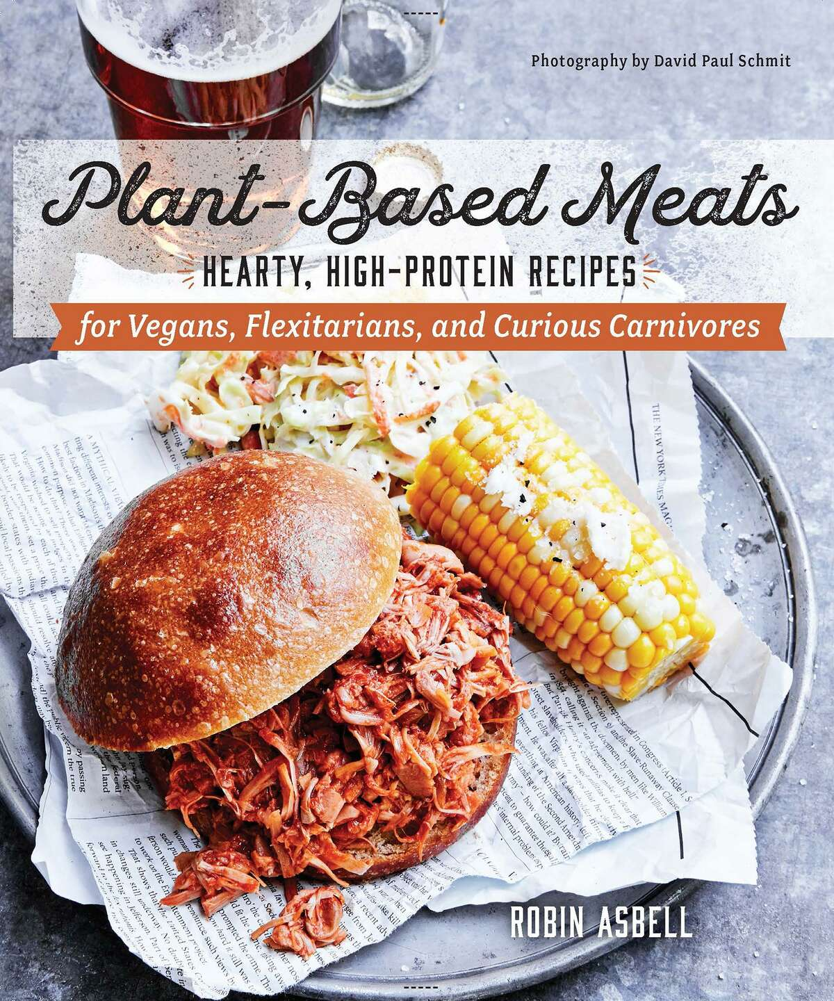 """""""Plant-Based Meats"""" by Robin Asbell (Countryman Press)"""