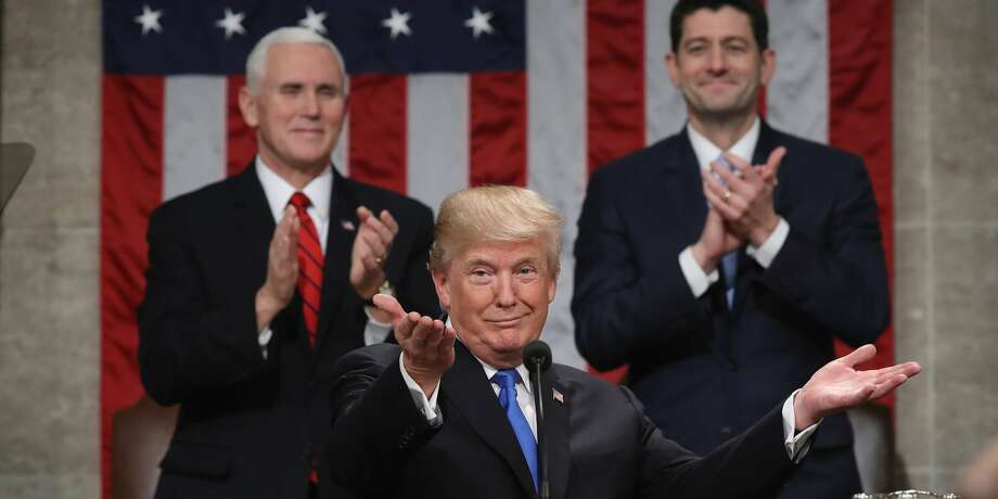 President Trump at last year's State of the Union. Photo: Win McNamee/Getty Images
