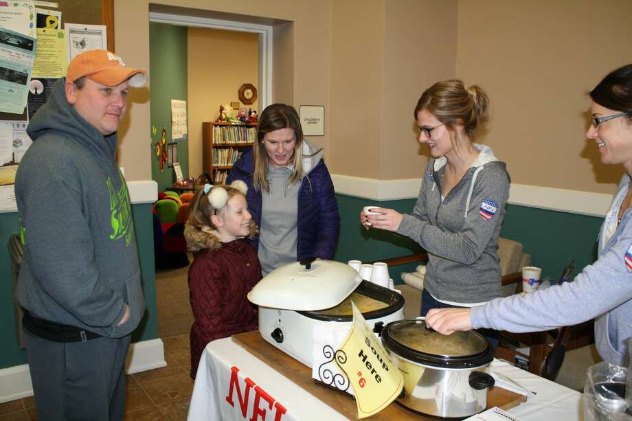 The 19th annual Souper Saturday event took place in Harbor Beach this weekend. Photo: Rich Harp/For The Tribune