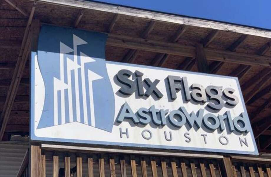AstroWorld Park Entrance Sign 