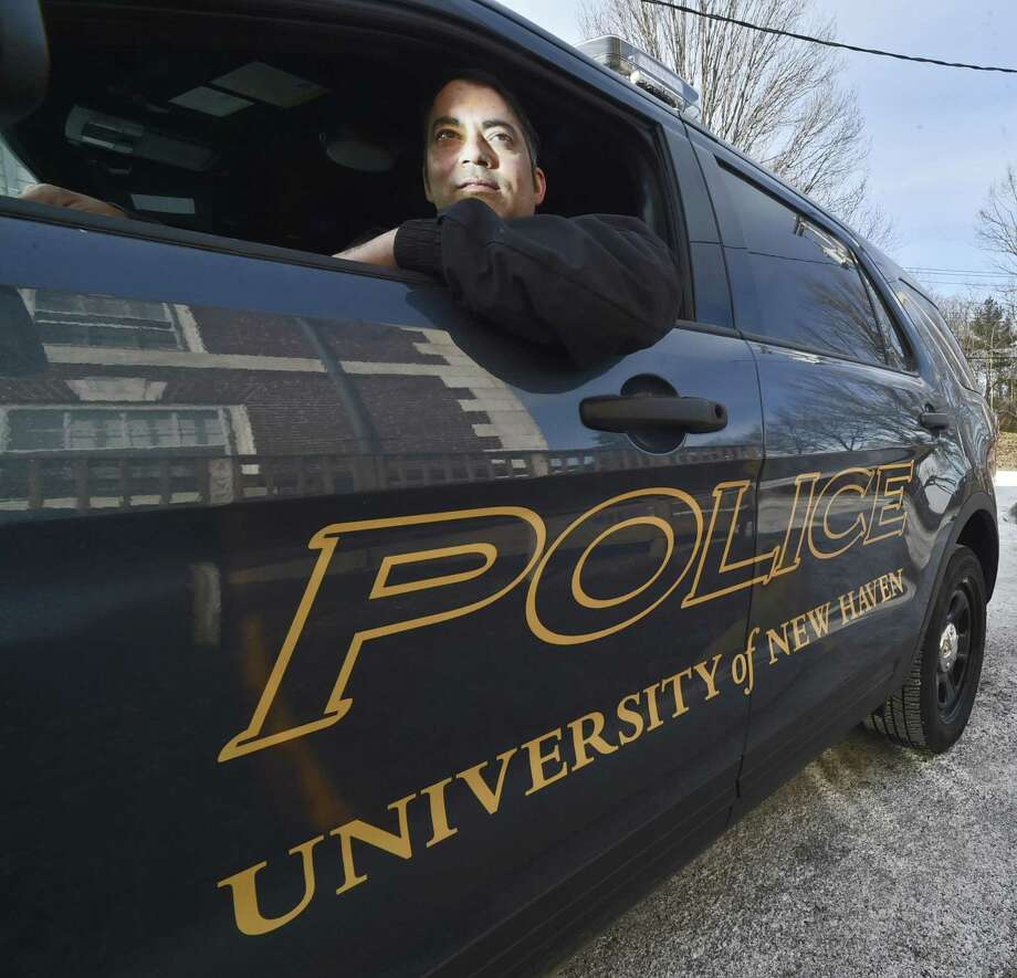 University of New Haven Police officer Lars Vallin Photo: Peter Hvizdak / Hearst Connecticut Media / New Haven Register