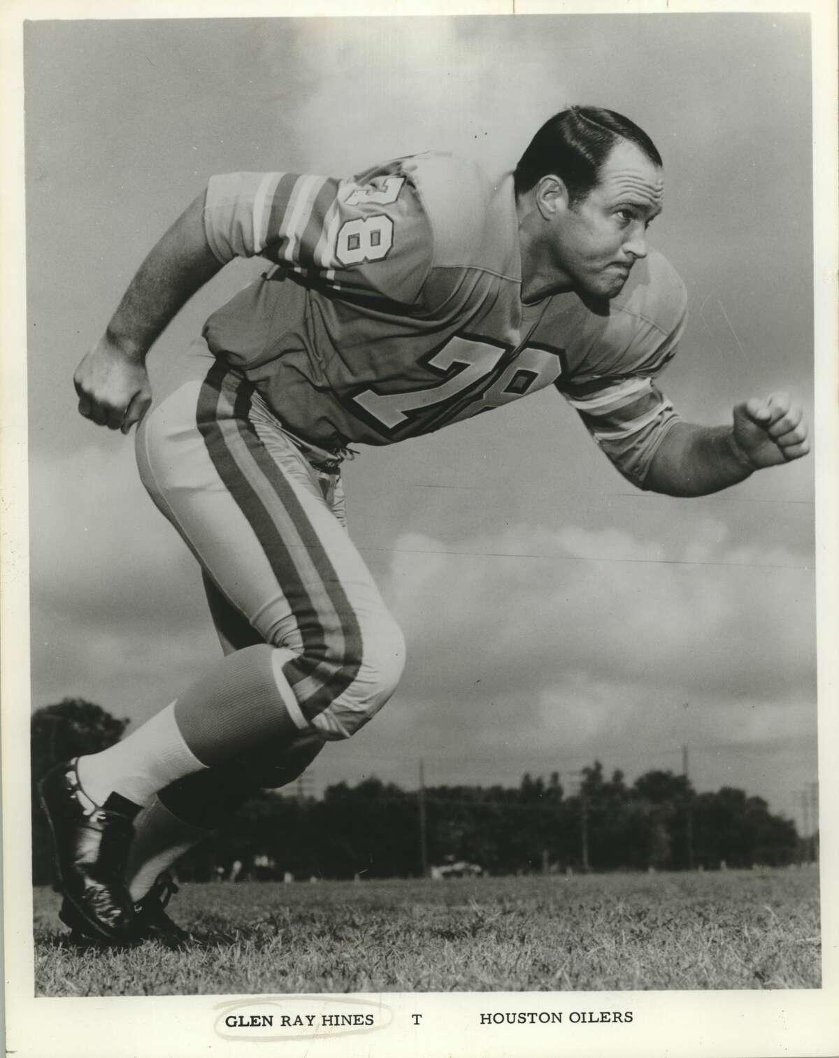 Feb. 1:Glen Ray Hines, 75, former Oilers lineman