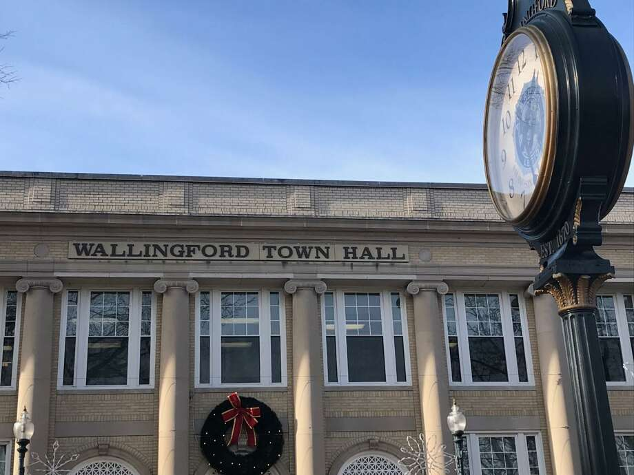 Wallingford's Town Hall on South Main Street as it appeared in January 2019 Photo: Luther Turmelle/Hearst Connecticut Media