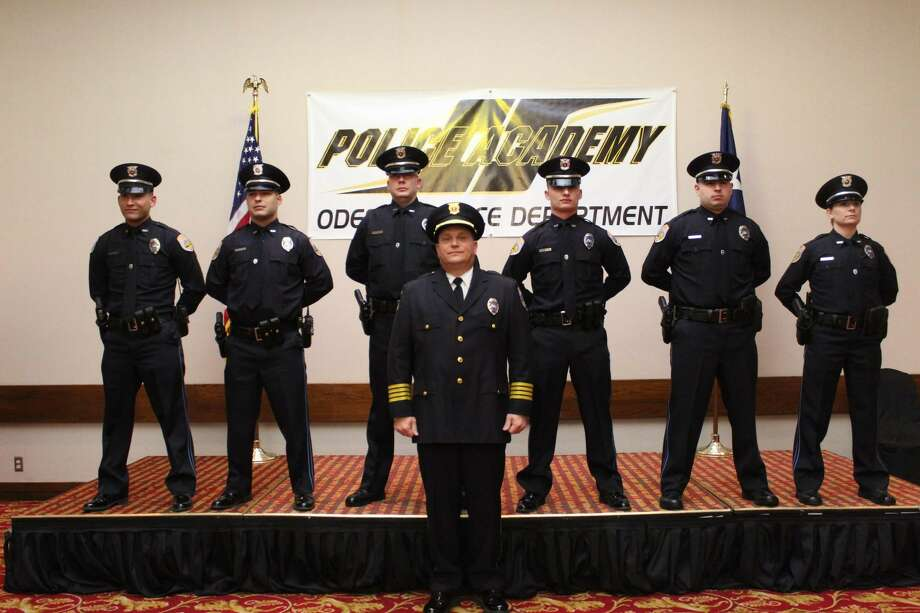 Odessa Police Department inducted six new OPD officers on Jan 25.  The Odessa Police Academy 17th session graduation took place at the MCM Elegante. The officers are: Photo: Odessa Police Department