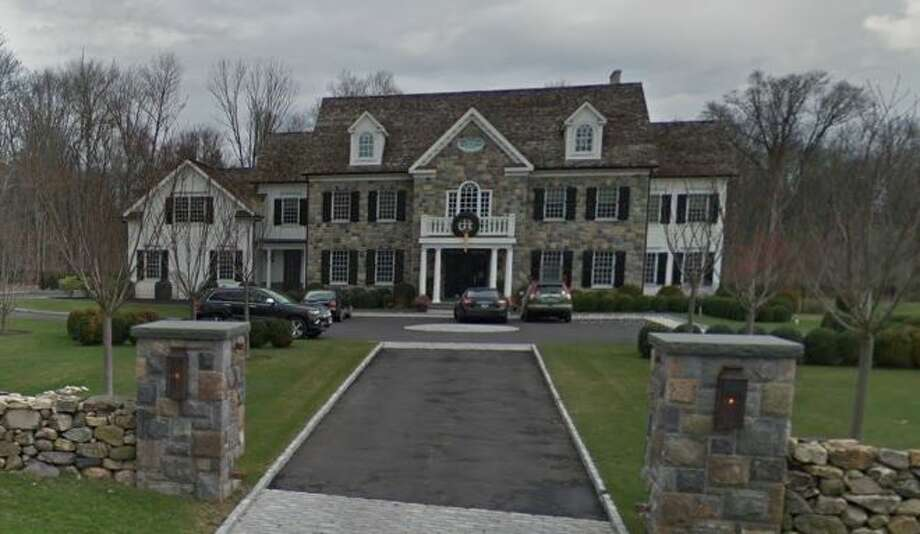 156 Taconic Road in Greenwich sold for $4,985,000. Photo: Google Street View