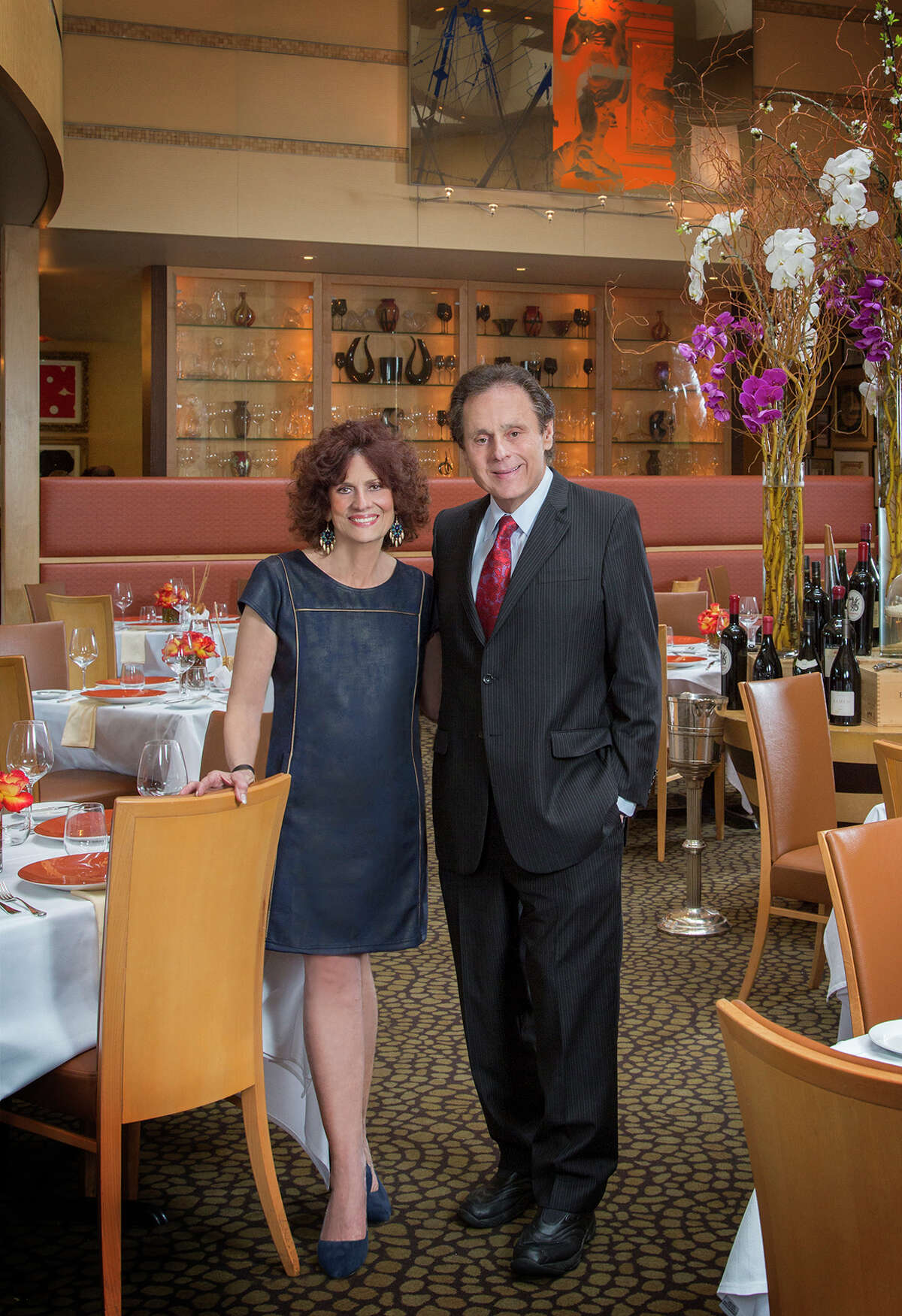 Tony's owners Donna and Tony Vallone.